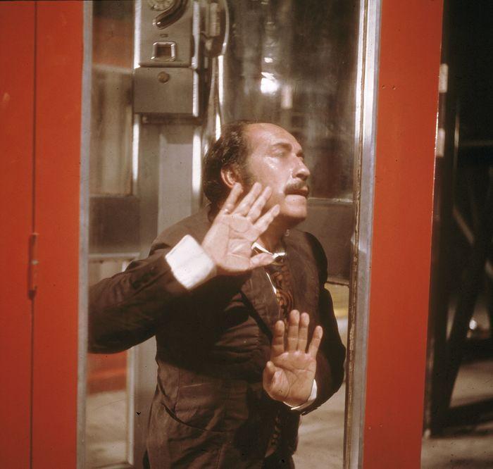 Antonio Mercero, La cabina, 1972. Imagen cedida por RTVE