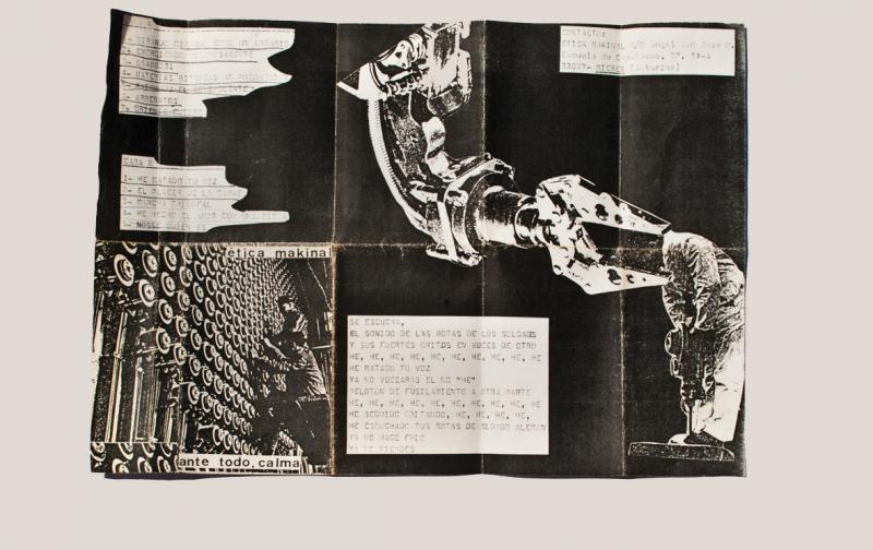 Carátula de Ante todo, calma de. Etika Makinal, 1986