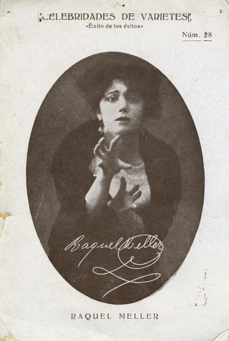 Raquel Meller, revista Celebridades de varietes