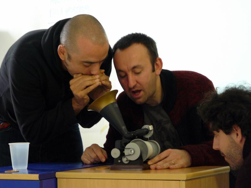 Chiu Longina. Proxecto-Edición CGAC. Chiu Longina, Julio Gomez y Horacio Gonzalez, 2007