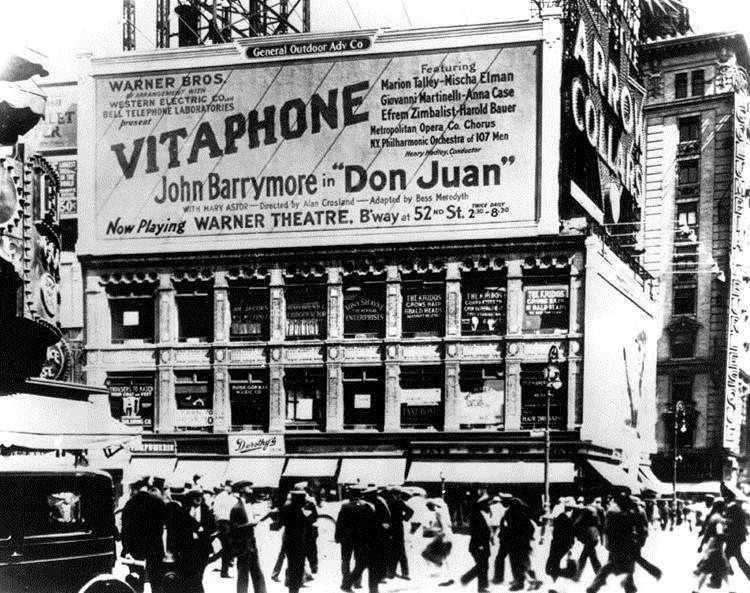 Estreno de Don Juan en 1926 en Nueva York