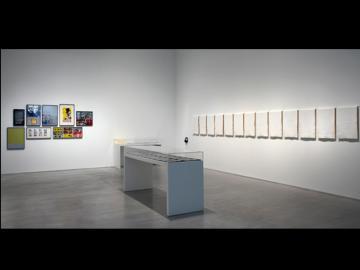 Vista de la sala 001.04 Arte y política al final de la dictadura