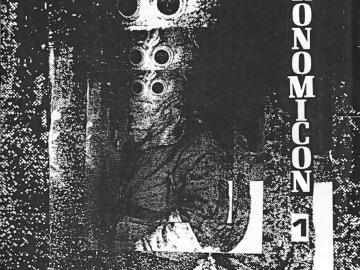 Portada del primer número del fanzine Necronomicón, 1984