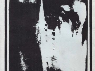 Portada de la casete que acompañaba al tercer número de Necronomicón, 1986