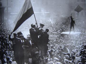 Alfonso Sánchez Portela. Proclamación de la II República, 1931