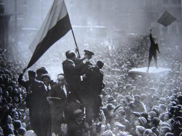 Alfonso Sánchez Portela. Proclamation of the Second Republic of Spain, 1931