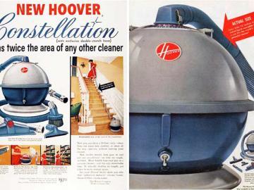 Publicidad de la Hoover Constellation 867A