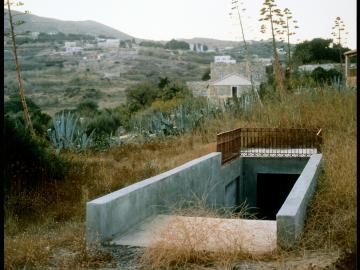 Metro-Net Subway EntranceKthma Canné, Hrousa, Syros, Greece, 1993