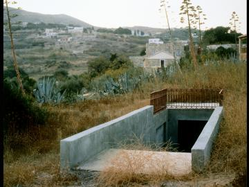 Metro-Net Subway EntranceKthma Canné, Hrousa, Syros, Greece 1993