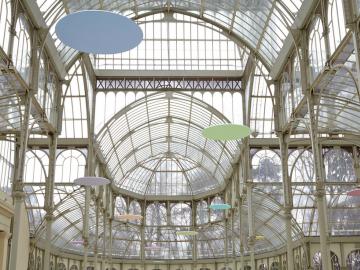 Vista de sala de la exposición.  Mitsuo Miura.Memorias imaginadas, 2013