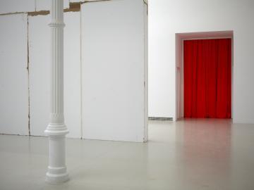 Vista de sala de la exposición. Heimo Zobernig, 2012