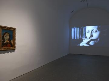 Exhibition view. The Biographies of Amos Gitai, 2014