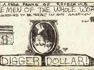 The Diggers. The Diggers dollar bill, 1971