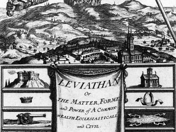 Thomas Hobbes. Leviatan, 1651