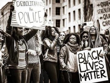 Manifestación de Black Lives Matter en Washington el 10 de noviembre de 2015. Fotografía: Johnny Silvercloud